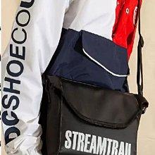 日本StreamTrail戶外防水包.新款 BREAM 休閒單肩郵差包- 瑪瑙黑(輕便好看)