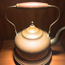 歐洲 古董 老銅壺