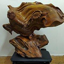 $賠售$貴州楠木雕刻藝品-武達摩 作家落款、非崖柏、花梨木、(自己運送可議)