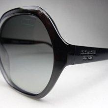 信義計劃 眼鏡 COACH HC 8065太陽眼鏡 膠框橢圓框大sunglasses