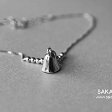 925純銀腳鏈-阪堂SAKADO-韓版設計師款--鈴鐺