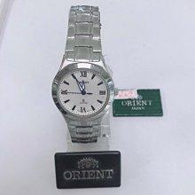 可議價 ORIENT東方錶 女 時尚羅馬數字 石英腕錶 (HM51X71)