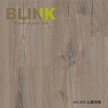 【BLINK】抗潑水AC5等級超耐磨卡扣木地板 銀河 505山嵐棕橡(連工帶料/坪)