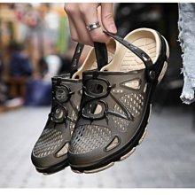 夏季必備新款 超透氣舒適好穿防滑花園鞋 時尚半拖鞋 懶人鞋 男休閒涼鞋 洞洞鞋 海灘鞋 雨鞋 防水鞋(F07現+預)