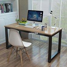 電腦桌臺式家用寫字臺書桌學生學習桌簡約長方形小桌子臥室辦公桌-ZHENLE百貨