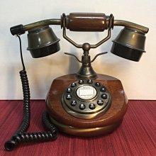 古典造型按鍵式電話機