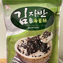 【佩佩的店】COSTCO 好市多 韓味不二 海苔酥 單包販售 80公克 X 1袋 全素 新莊可自取
