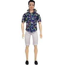 過家家玩具芭比娃娃。女孩男生的嬰兒玩具帥氣30厘米王子30厘米芭比娃娃男衣服