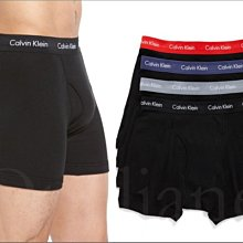 Calvin Klein Brief CK卡文克萊彈性棉內褲平口四角褲男內著四件1組S M L XL號 愛Coach包包
