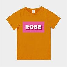 T365 MIT 親子裝 T恤 童裝 情侶裝 T-shirt 標語 話題 口號 標誌 美式風格 slogan ROSE
