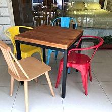【 一張椅子 】LOFT 商業空間愛用 訂製款實木拼接桌