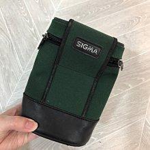 9成新 SIGMA 墨綠色 鏡頭 相機包 收納防護 攝影外出 DDD