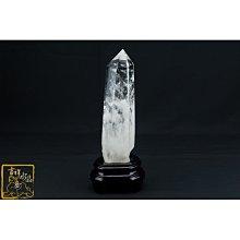 白水晶柱 22.4cm 化解橫樑壓頂【吉祥水晶專賣店】 編號BL82