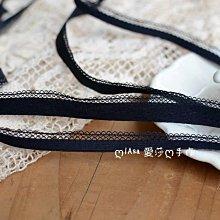 『ღIAsa 愛莎ღ手作雜貨』長90cm 黑色彈力內衣蕾絲花邊DIY蕾絲項鍊輔料/娃衣輔料