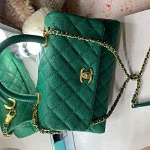 Chanel 稀有綠色handle(已售出)