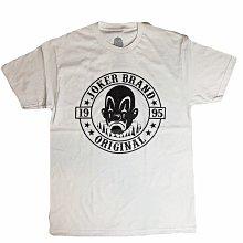 Joker Brand Original T-Shirt黑色/白色【DOOBIEST】