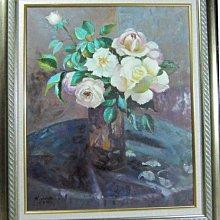 古藝閣 油畫 靜 物