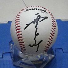 棒球天地---中信兄弟 張正偉 簽名全新職棒比賽球.字跡漂亮