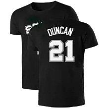 🔥石佛Tim Duncan鄧肯短袖棉T恤上衣🔥NBA馬刺隊Nike耐克愛迪達運動籃球衣服T-shirt男女喬丹611