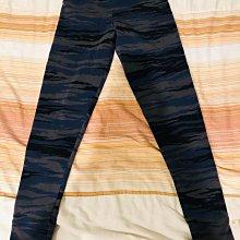 Adidas 藍灰色動物紋 縮口運動褲 M