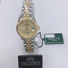 可議價 ORIENT東方錶 女 時尚半金女鑽 石英腕錶 (HE74K03) 22mm