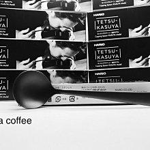 日本製 HARIO 限定款 粕谷哲 不鏽鋼消光黑 杯測匙 KCS-1-MB Cupping Spoon  KASUYA