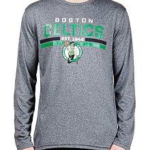 NBA 波士頓塞爾提克隊 長袖T恤【M】官方授權 Boston Celtics 灰色 全新 現貨 保證正品