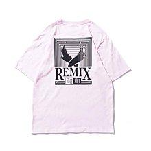 REMIX '17 S/S REMIX GRATING TEE [ 粉紅 ] (非 Jordan Nike
