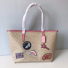 【COACH代購館】美國正品COACH 3724 迪士尼聯名限量敞口托特包 購物包購物袋 女手提袋 挑戰網絡最低價可批發