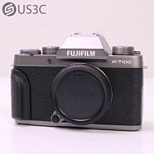 【US3C-台中店】公司貨 Fujifilm X-T100 單機身 WiFi 可換鏡頭式 2420萬像素 APS-C 二手單眼相機