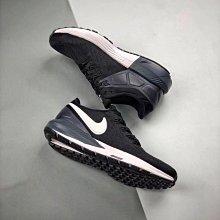 Nike Air Zoom Structure 22登月 黑白 百搭 輕量 透氣 氣墊 慢跑鞋 男女AA1636-002
