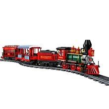 積木城堡 迷你廚房 早教益智新品樂園火車71044遙控拼裝玩具城堡男孩女孩積木