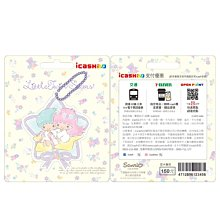 雙星仙子 星願 2020 造型icash 2.0 感應卡愛金卡 全新空卡 雙子星 kikilala Sanrio 三麗鷗