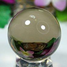 孟宸水晶 = A9019  (100%天然超清透茶水晶球123克)