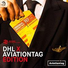 九州動漫 德國AviationTag限量鑰匙扣飛行行李牌 DHL50周年波音757飛機蒙皮