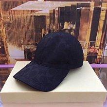 空姐代購 COACH 70251 男女通用款 大C針織 帆布帽子 棒球帽 遮陽帽 休閒帽 可調節寬鬆 附購證 下標送禮