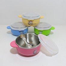 【88商鋪】王樣OSAMA韓式卡通兒童碗12cm(中)/PC上蓋/附不銹鋼小匙/隔熱碗 /湯碗/餐碗.兒童碗