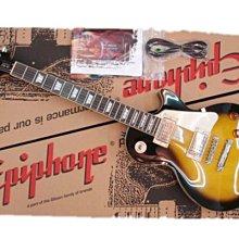【六絃樂器】全新 Epiphone Les Paul Standard Plain-Top 夕陽漸層電吉他 / 現貨特價