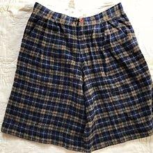 日本製 grin可愛格紋褲(全新附吊牌)natural laundry