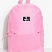 〈專櫃品牌〉市價1500 ACEMBLY 後背包 - 夢幻粉X熱帶花卉 筆電包 附肩帶、前小包 書包 肩背包 玩很大 同款