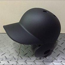 ☆運動瘋☆全新 職業等級 雙耳 流線型 打擊頭盔 打盔 棒球安全帽 (霧面黑色) 特價1800