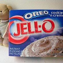 【Sunny Buy寶貝館】◎現貨◎Jelly-O布丁粉 (Cookie n Cream餅乾白巧克力) 簡單布丁119g