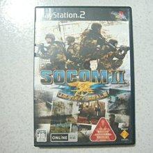 【~嘟嘟電玩屋~】PS2 日版光碟 ~ SOCOM II:美國海豹特遣隊