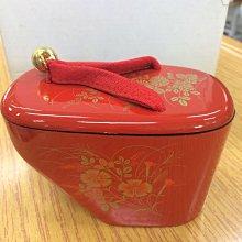 日本 紅色木屐糖果組 空盒 原價760 歡迎面交