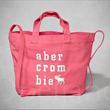 Abercrombie & Fitch  A&F AF 麋鹿 青少年款 粉紅色 肩背包 托特包 斜背包 愛Coach包包