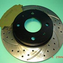 (逸軒自動車)-高硬度前劃線鑽孔碟盤+道路版來令片-CORONA-TERCEL-EXSIOR