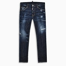 現貨【DSQUARED 2】2020春夏 點狀彩漆深藍COOL GUY牛仔褲 *50%OFF*