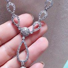 天然南洋黑珍珠12mm天然鑽石1.3克拉義大利14k金設計項鍊