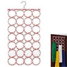 28孔環繩繩圍巾披肩收納架 遇見良品H4556T