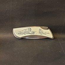 ONE*$1~美國製*ZIPPO GUARANTEE堅果『折疊刀 』不銹鋼*重量:約75克